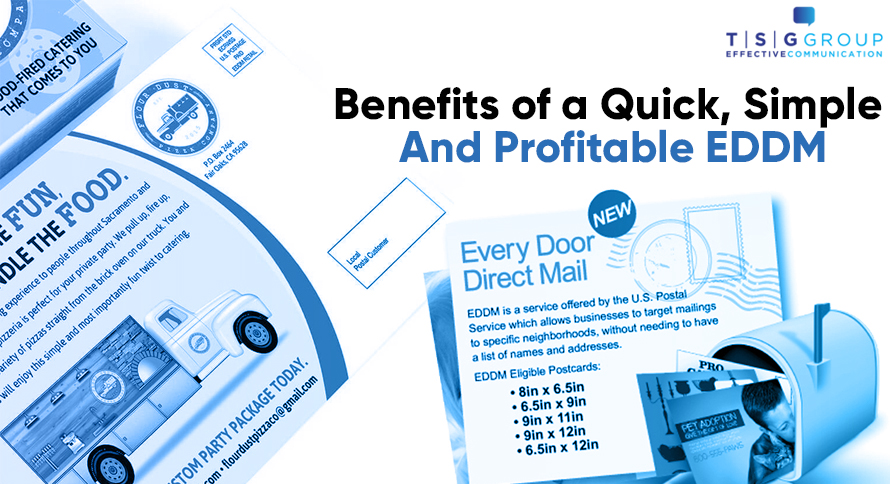Benefits of a Quick, Simple and Profitable EDDM